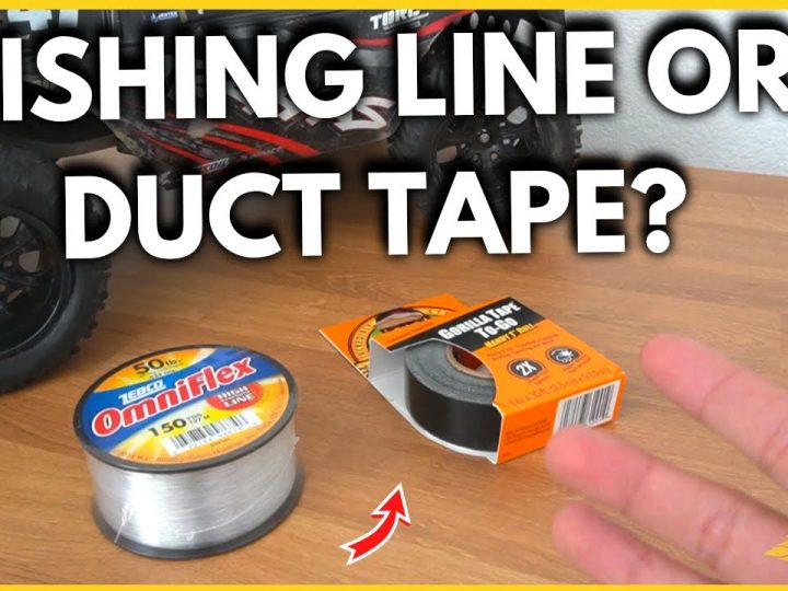 How To Stop RC Tires Ballooning – Duct Tape vs. Fishing Line