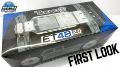 Nwe!! Tekno ET48 2.0✌️ ΠΡΏΤΗ ΜΑΤΙΆ!  It's 1/8th Electric Truggy Time