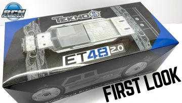 Nowy!! Tekno ET48 2.0✌️ FIRST LOOK!  It's 1/8th Electric Truggy Time