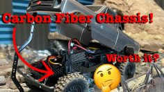 "SCX24 Chevy Gets A ""Carbon Fiber"" Frame! //Is it worth the upgrade? Should you buy one?//"