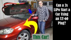 Can this TINY RC LiPo Battery Pack Start a Car?