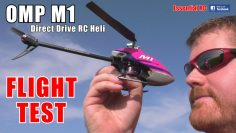 OMP HOBBY M1 MINI RC HELICOPTER:  DUAL BRUSHLESS DIRECT DRIVE 3D PERFORMANCE | FLIGHT TEST