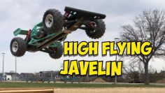 e182: Kyosho Javelin High Flying Freestyling Fun Run!