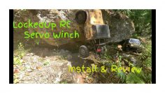 LockedUp RC Servo Winch Install & Bewertung