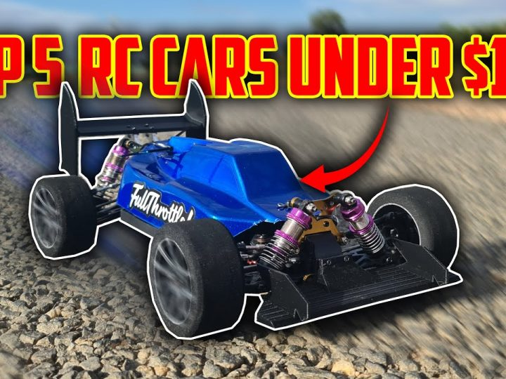 Top 5 BEST RC Cars UNDER $100