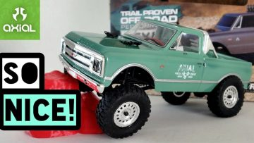 Axial SCX24 with Chevrolet C10 licensed body. The Best Rc Crawler.