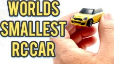 Worlds smallest RC car Tiny 1:76th scale RC Hobby Porter Turbo Racing full proportional steering