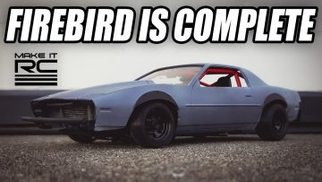 Firebird Drift Build: Part 8 Completing the Car! Adding Interior, Exhaust, and Final Details