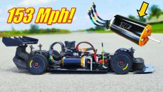 HUGE TP Motor 150+ Mph! 1st time EVER in Spartan! Arrma Infraction V2GT