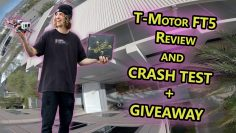 TMOTOR FT5 Full REVIEW W/ Crash Test ! (You can win this drone ! )