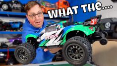 They didn't tell me about this!  NOWY 60mph Arrma Vorteks 4×4 3s BLX!