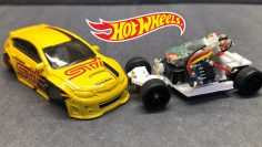 Hot Wheels RC coche usando un Subaru WRX STI Hatchback