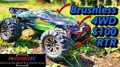 Hosim 2845 1/16 Brushless 4WD RC Truck | Unbox | Test | Pregled