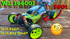 WL 144001 Λάθη! //Unbox and Review of this little buggy its fast and fun, but can it drift?//