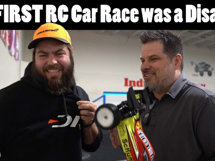 2nd Place in my First Ever RC Car Race