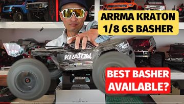 Kraton Arrma 1/8 6s review – best rc truck basher and jumper available today?
