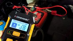 测试, repair, and charge car battery – Konnwei KW510 review