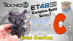 #04 Tekno ET48 2.0 E-Truggy – BUILD SERIES – Bolsa de kit C : Caja de cambios frontal