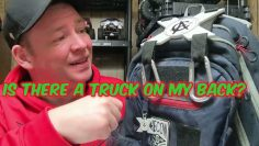 Loading a truck on your back. – CarryAll RC bag