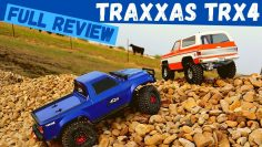 Condução de unboxing Traxxas TRX4 e revisão completa | Potato Review RC Car
