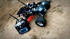 Rc car FPV teste Atenas 5.8ghz