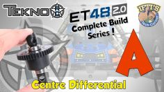 #02 Текно ET48 2.0 Э-Тругги – СЕРИЯ СБОРКИ – Kit Bag A : Centre Differential