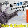 #07 Tekno ET48 2.0 E-Truggy – BUILD-SERIE – Kit Tasche F : Hintere Naben & Camber Links