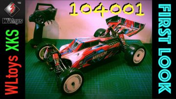 **NY** WLtoys 104001 Unboxing Oversigt 1/10th skala 4WD buggy