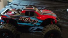 My New Traxxas Maxx 4S