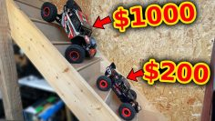 Cheap RC Rock Racer extreme testing
