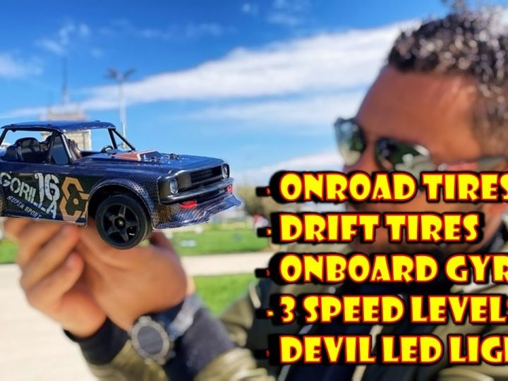 Sg 1604 the Amazing 2in1 OnRoad & Drift RC Car – EXAMEN COMPLET