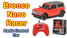 Adventure Force RC 1:64 Scale Fjernbetjening Nano Racers Bronco Truck