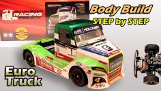 RC European truck racing – Tamiya Buggyra Fat Fox body build – Step by Step – Części 2