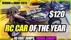 $120 RC Car EVERYBODY WANTS – Wltoys 124019 Rtr – 40ft JUMPS, BASH, & REVIEW 🏆