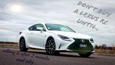 Luxury coupe!  Owner Review on the Lexus RC.