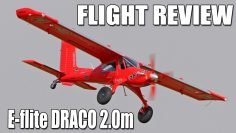 E-flite DRACO 2.0m Smart Assembly & Examen des vols | Le RC Geek