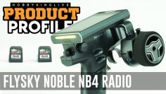FLYSKY Noble NB4 AFHDS3 Radio superficial – Revisión de unboxing