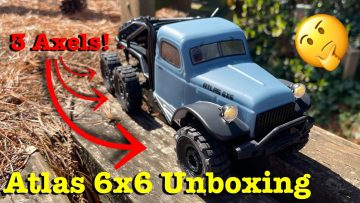 Atlas 6×6 Unboxing & Review! //Are 3 axels better than 2?//