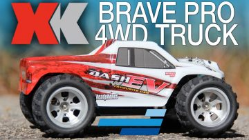 XK Brave Pro High Speed 1/18 Scale 4WD Truck RTR – Motion RC