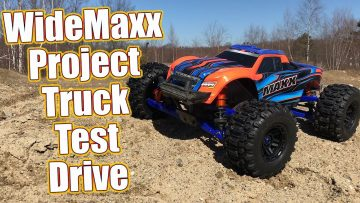 Bashing With The WideMaxx! Project Traxxas Maxx Phase 2 PT3 | RC Driver