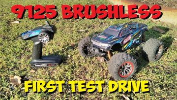 Xinlehong 9125 Brushless Converted RC truck – First Test Drive