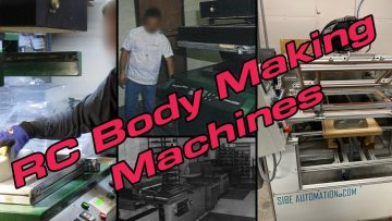 Vacuum Form Machines Used for Making RC Car Bodies