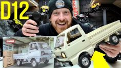 WPL RC D12 Rwd 1/10 drift kei truck UNBOXING