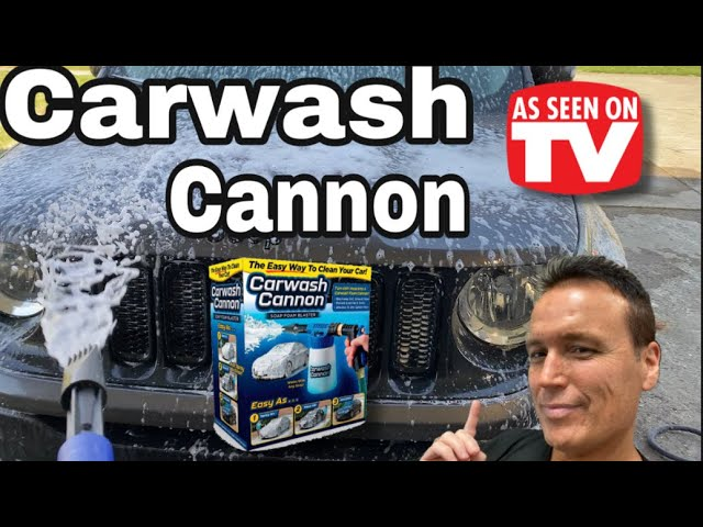Carwash Cannon Review – As Seen On TV