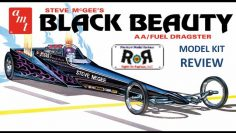 Black Beauty Dragster 1:25 Scale AMT 1214  -Model Kit Build & Отзыв