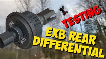 Arrma EXB Rear Differential Testing in 8s Talion (YOU NEED THIS!!!)