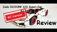 Cada C61018W 610 Super Car RC Version  ( Lamborghini Huracan) inkl. Crashtest
