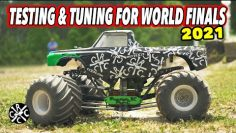 Test- und Tune-Rennen für 2021 No Limit RC World Finals at Digger's Dungeon