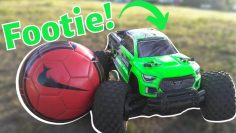 Playing Football/Soccer Game with an RC Car!