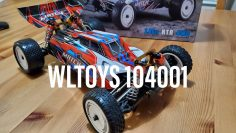 WLTOYS 104001 unboxing and speed test (Makerfire)